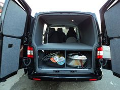 Surfboard storage for van - basic.