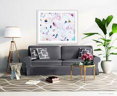 Lulu 10x8-30x24in Giclee Abstract Fine Art by ParimaCreativeStudio