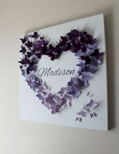 15 Ways To Make Your Walls Beautiful With Butterfly Wall Decorations 13