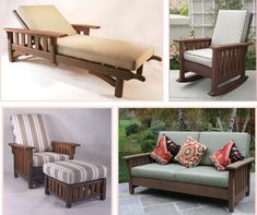 Washoe Collection - Craftsman styled outdoor furniture by Reed Bros.