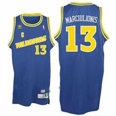 Golden State Warriors adidas Sarunas Marciulionis #13 Soul Swingman Jersey - Royal