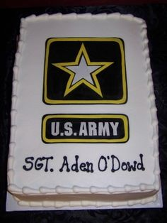 U.S. Army By danabgunter on CakeCentral.com