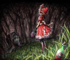 Carpe Diem: Caperucita Roja / Little Red riding Hood