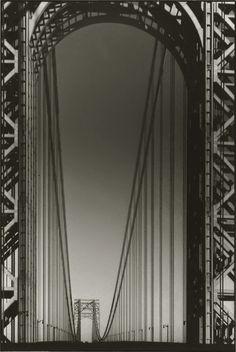 Margaret Bourke-White. George Washington Bridge, ca. 1934.