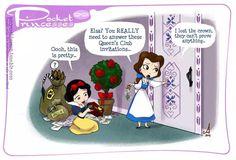 Pocket Princess no. 99 Pocket Princess no. 99 Pocket Princess no. 99 Pocket Princess no. Walt Disney, Cute Disney, Disney Girls, Disney Magic, Funny Disney, Pocket Princesses, Pocket Princess Comics, Pocket Princess Frozen, Disney Memes