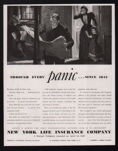 1937 new york life #insurance company #vintage ad #magazine advertisement, View more on the LINK: http://www.zeppy.io/product/gb/2/112021032393/