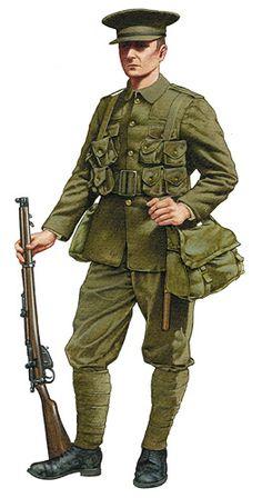 British Army WW 1