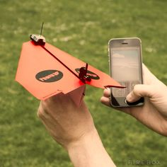 PowerUp 3.0 Smartphone Controlled Paper Aeroplane #CoolGadgets, #Outdoor