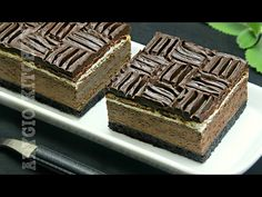 Prajitura fara coacere cu biscuiti Oreo | Adygio Kitchen - YouTube Romanian Desserts, Mcdonalds, Tiramisu, Oreo, Biscuit, Sweets, Candy, Ethnic Recipes, Food