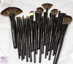 Pinay Beauty In A Budget: Review: Romwe 24 Pc. Professional Soft Makeup Brush Set