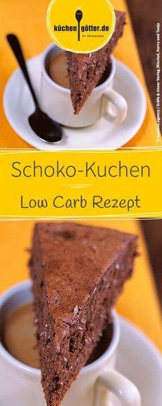 Low Carb Rezept für selbst gemachten Espresso-Schoko-Kuchen.