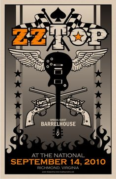 ZZ Top ~ Richmond 2010