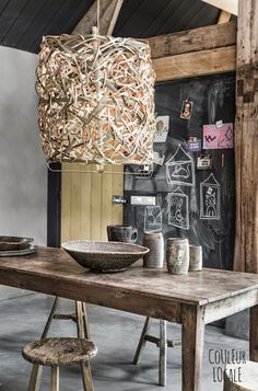 vosgesparis: Inspiration for your home | New Ay Illuminate by Couleur Locale