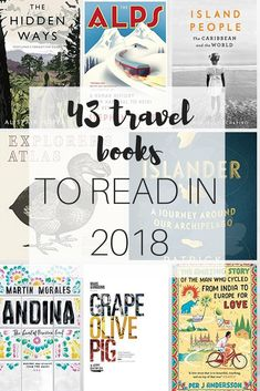 43 best travel books to read in 2018 If you made it your New Year's Resolution to read more this year then I have some fabulous travel book suggestions for you. These are the books shortlisted for The Edward Stanford Travel Writing Awards Yes, Stanfo