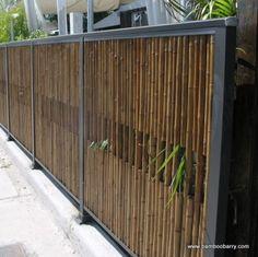 Bamboo: Decorative fences
