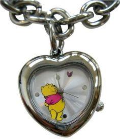 Winnie The Pooh Heart Shaped Pennant Bracelet Watch Winnie The Pooh Watch