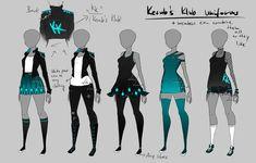 Kerub's Klub - Uniforms by LotusLumino on DeviantArt