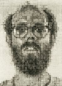 chuck close drawing - Google Search