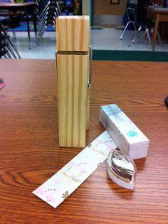 DIY Decorated Jumbo Clothespins