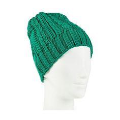 Merona Beanies Jade Springs ($15) ❤ liked on Polyvore featuring accessories, hats, jade springs, beanie hats and merona