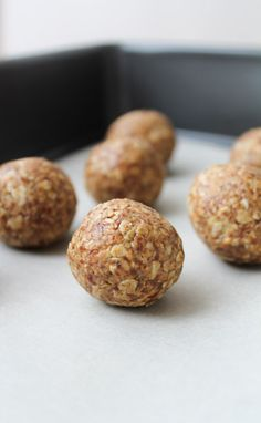 Coconut & Almond Butter Energy Balls – Vegan, Gluten Free & No Added Sugar