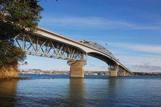 Harbour Bridge, Auckland, New Zealand, #auckland
