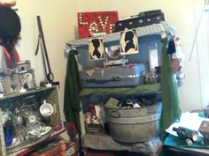 another view of my storage shelf