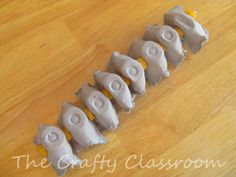 Egg Carton Spinal Cord - visual demonstration for how the spinal cord can bend, as well as discuss the nervous system #homeschool human body. Apologia anatomy