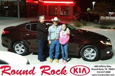 https://flic.kr/p/CW6H1j | Happy Anniversary to Maria Luisa on your #Kia #Optima from Fidel Martinez at Round Rock Kia! | deliverymaxx.com/DealerReviews.aspx?DealerCode=K449