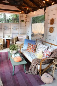 Cozy fall screened P