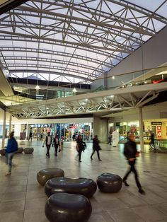 The Zone interior and glass roof structure by arc Architects. Architectural Services, Roof Structure, Glass Roof, Architects, Retail, San, Interior, Glass Ceiling, Roof Design