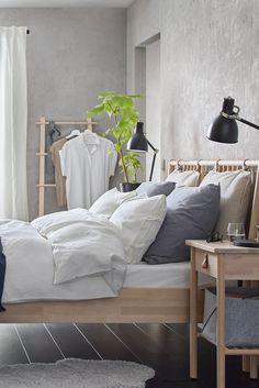 Cool ikea bedroom ideas 2019only in mafahomes.com Cheap Bedroom Sets, Cute Bedroom Ideas, Pretty Bedroom, Stylish Bedroom, Bedroom Inspiration, Modern Bedroom, Ikea Bedroom, Bedroom Decor, Bedroom 2017