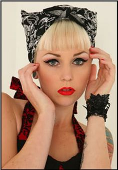 84 Best Pin Up Makeup Hair Images Rockabilly Hairstyle Retro