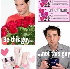 Men!! Be the guy who buys the perfect gift this Valentine's Day!  Whether you want to get her a gift card, skin care products, or great new makeup, I can help you find the perfect gift!  Check out the great Mary Kay fragrances!