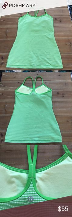 NWOT lululemon tank Can't find a color to match this with AND realized I fit better in a size 4. Pads obviously included as it's brand new lululemon athletica Tops Tank Tops