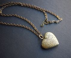 Your place to buy and sell all things handmade Heart Locket Necklace, Pendant Necklace, Cute Jewelry, Jewlery, Hollywood Hair, Hair Designs, Layers, Necklaces, Purses
