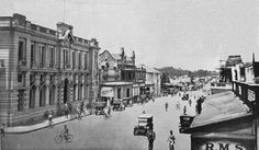 Harare, Zimbabwe during colonial times. Then known as Salisbury in 1930, Southern Rhodesia