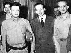Junta Revolucionaria 1944-1945: Francisco Javier Arana, Jorge Toriello Garrido, Jacobo Árbenz Guzmán