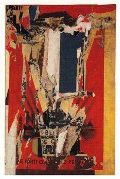"""/""""COCA COLA/"""" Moderne Abstrait contemporain Grunge art mural toile ~ 4 panneaux"""