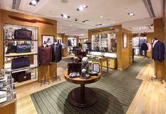 The Home of Alfred Dunhill flagship store by Gavin Tu, Hong Kong.