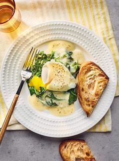 Brunch Recipes, Breakfast Recipes, Dinner Recipes, La Florentine, Eggs Benedict Recipe, Ricardo Recipe, Good Morning Breakfast, Great Recipes, Healthy Recipes