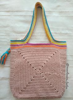 Marvelous Crochet A Shell Stitch Purse Bag Ideas. Wonderful Crochet A Shell Stitch Purse Bag Ideas. Crochet Purse Patterns, Crochet Tote, Tote Pattern, Crochet Handbags, Crochet Purses, Crochet Baby, Knit Crochet, Crochet Shell Stitch, Crochet Stitches