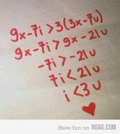 nerd love <3  (I hate math.)