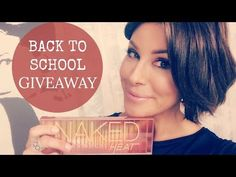 Back To School Glam Giveaway! - YouTube