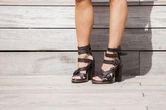 Alexander Wang Braided Petra Sandals