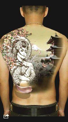 50 amazing geisha tattoos designs and ideas for men and women . - 50 amazing geisha tattoos designs and ideas for men and women - Irezumi Tattoos, Maori Tattoos, Tatuajes Irezumi, Asian Tattoos, Body Art Tattoos, Tribal Tattoos, Tatoos, Tatoo Geisha, Geisha Tattoos Sleeve