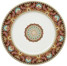 Villeroy & Boch Classic Platzteller 11-3/4-Inch Buffet Plate Jewel by Villeroy & Boch. $72.00. Handwash, not for Microwave Use. 11-3/4-Inch buffet plate. Bone. Multi. Bone china buffet plate in a multi colored jewel band