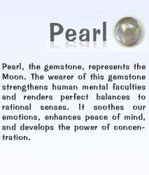 Birth, Gem Stones As Per Indian Vedic Astrology- (Pearl)
