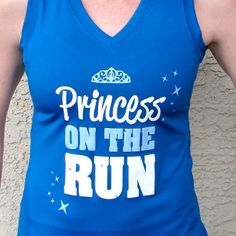 Princess Running Shirt