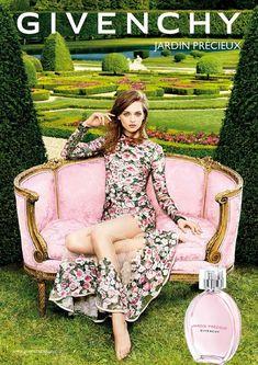 Daga Ziober for Givenchy Jardin Precieux Fragrance Campaign 2015